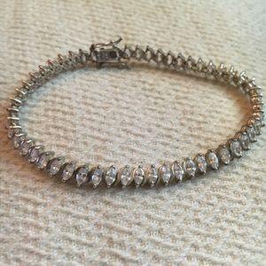 Women's 925 CZ tennis bracelet